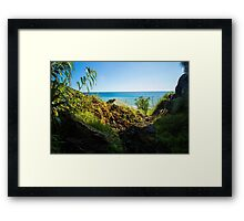 The View from the Cave - Nature Photography Framed Print