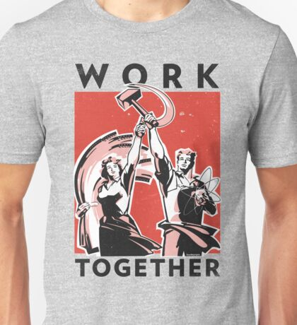 Work Together (Vector Recreation) Unisex T-Shirt