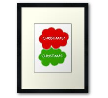 The Fault In Our Stars Christmas Framed Print