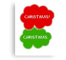 The Fault In Our Stars Christmas Canvas Print