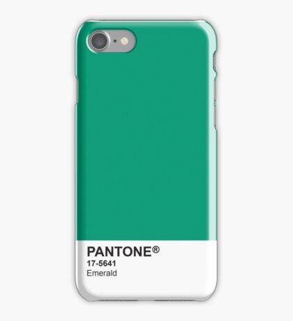 Pantone Universe Phone Case - Emerald 17-5641 iPhone Case/Skin