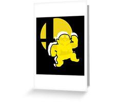 Wario - Super Smash Bros. Greeting Card