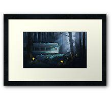 Night Train Framed Print