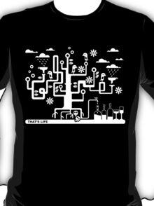 That's Life - black T-Shirt