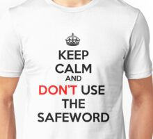 KEEP CALM - FIFTY SHADES Unisex T-Shirt
