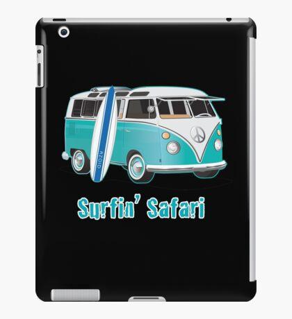 Split Window VW Bus Surfing Safari Van iPad Case/Skin
