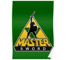 Link and the Master Sword Poster