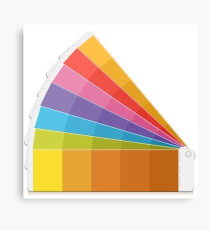 Pantone Palette Canvas Print