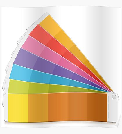 Pantone Palette Poster
