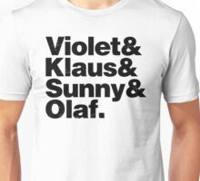 A Series of Unfortunate Names Unisex T-Shirt