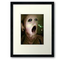 Creature #1 Framed Print