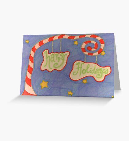 Whimsical Christmas 2 Greeting Card