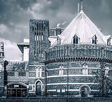 Royal Shakespeare Company Theatre (Mono) by StephenRphoto