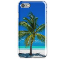 All By Myself - Lone Coconut Palm iPhone Case/Skin