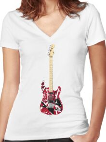 Wolfgang EVH Women's Fitted V-Neck T-Shirt