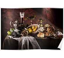 Still Life with Gourds Poster