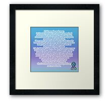 Not a small one Framed Print