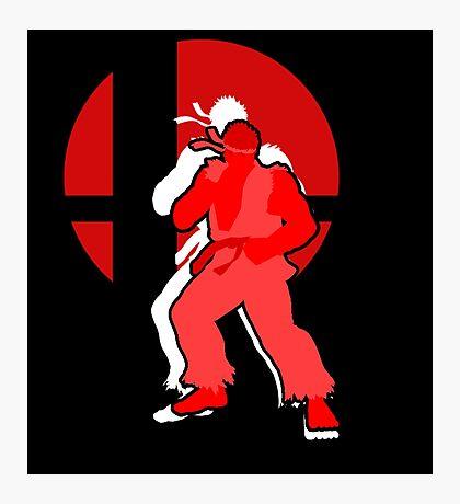 Ryu - Super Smash Bros. Photographic Print