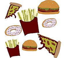 Fast Food Print Photographic Print
