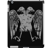 Heraldic Eagle Grunge Heraldry Cool Distressed Design iPad Case/Skin