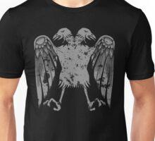 Heraldic Eagle Grunge Heraldry Cool Distressed Design Unisex T-Shirt