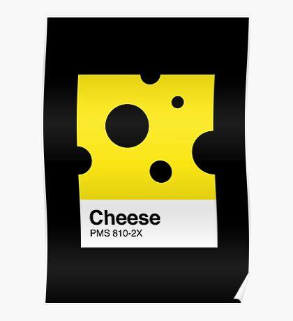 Cheese Pantone Poster