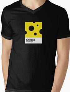Cheese Pantone Mens V-Neck T-Shirt