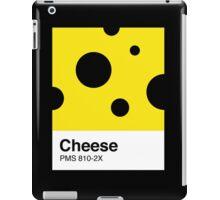 Cheese Pantone iPad Case/Skin