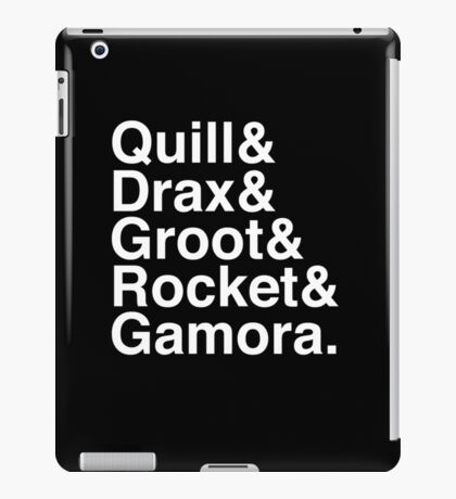 & the guardians iPad Case/Skin