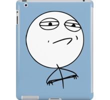 Challenge Accepted! iPad Case/Skin