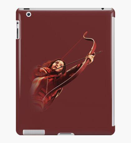 RED MOCKINGJAY iPad Case/Skin