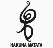 Hakuna Matata - African Symbol by sweetsixty