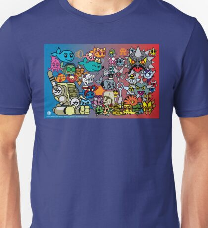 MOBIUS The MAGIC WHALE - SERIES 1 CHARACTERS Unisex T-Shirt