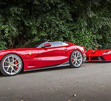 Ferrari TRS & LaFerrari by RossJukesAuto