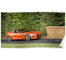Jaguar F-Type Coupe Poster