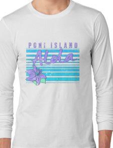 Pokemon Sun and Moon - Poni Island Long Sleeve T-Shirt