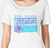 Pokemon Sun and Moon - Poni Island Women's Relaxed Fit T-Shirt
