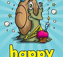 The Birthday Snail by Paul-M-W