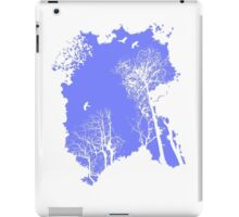 Forest Silhouette in Sky Blue iPad Case/Skin