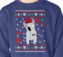 Miniature Bull Terrier ugly sweater Christmas T-shirt and gift Pullover