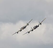 Two Lancasters by jonathan1984