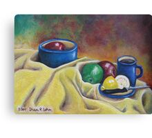 Fruit and Coffee Canvas Print