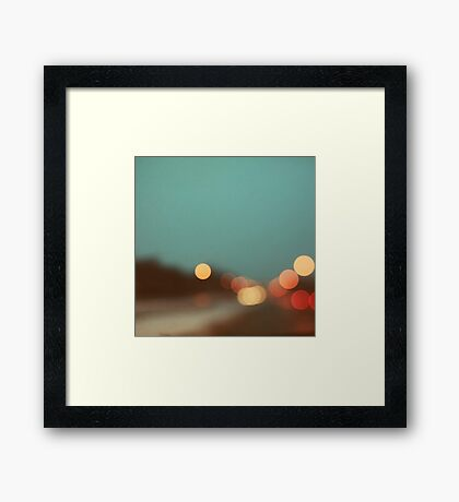 December Light  Framed Print
