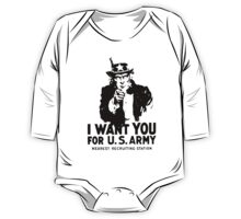 I WANT YOU FOR U.S ARMY One Piece - Long Sleeve