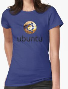 ubuntu - the way i see the world Womens Fitted T-Shirt