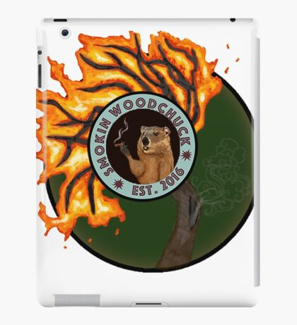 Smoking Woodchuck iPad Case/Skin