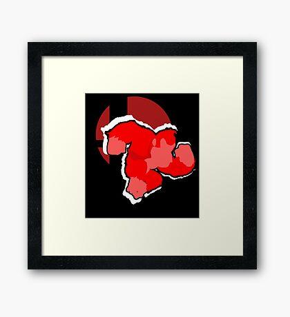 Donkey Kong - Super Smash Bros. Framed Print