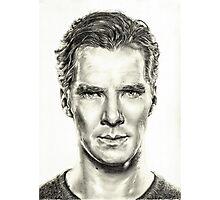 Study of Benedict Cumberbatch Photographic Print
