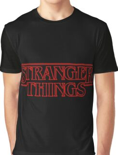 Stranger Things. Graphic T-Shirt