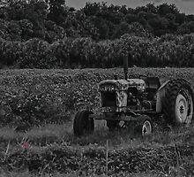 Old Tractor by Karl F Davis